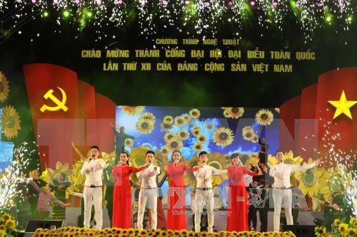 Soiree de gala saluant le succes du 12e Congres national du PCV hinh anh 2