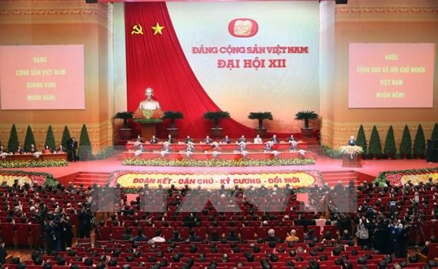 Communique de presse de la seance de cloture du 12e Congres national du PCV hinh anh 1