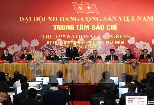 Le Parti communiste de la Federation de Russie salue le succes du 12e Congres national du PCV hinh anh 1