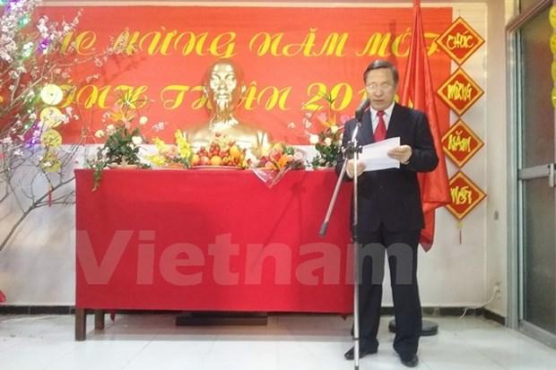 Les Vietnamiens en Thailande et en Algerie accueillent le Tet du Singe hinh anh 2