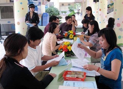 A Hanoi, les dossiers d'admission des ecoles en quelques clics hinh anh 1