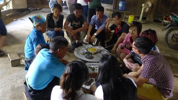 Chieng Di, un village typique Mong hinh anh 2