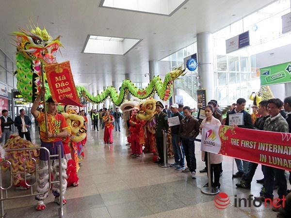 Da Nang accueille le premier vol du Nouvel an lunaire du Singe hinh anh 1