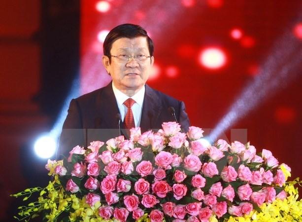 Le chef de l'Etat formule ses vœux du Tet traditionnel au peuple hinh anh 1