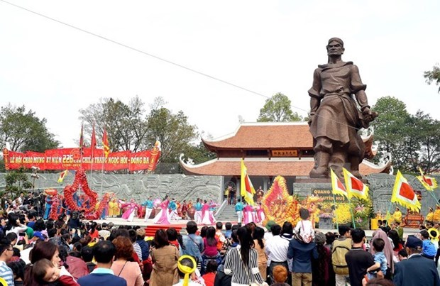 Celebration des 227 ans de la victoire de Ngoc Hoi-Dong Da hinh anh 1