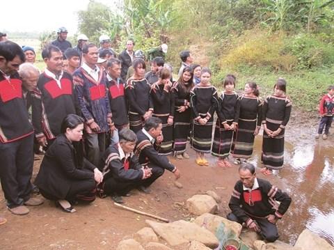 Les Ede celebrent le culte de l'eau, source intarissable de bienfaits hinh anh 1