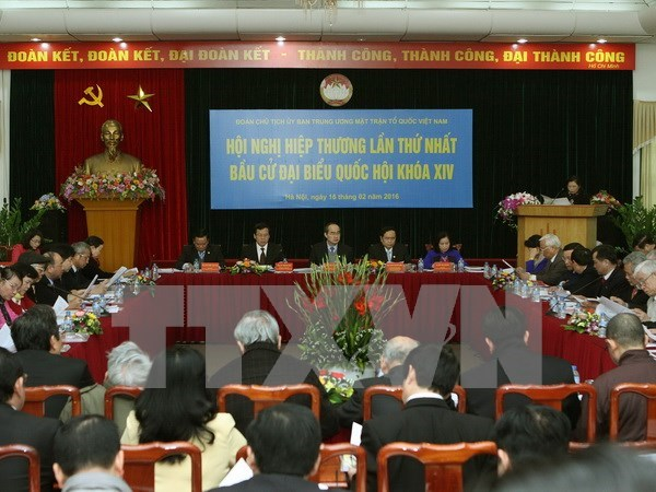 Conference consultative sur les prochaines elections legislatives hinh anh 1