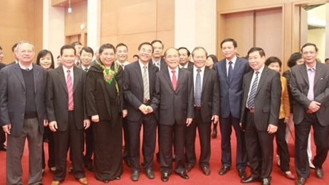 Nguyen Sinh Hung presente ses vœux du Nouvel An aux organes de l'AN hinh anh 1