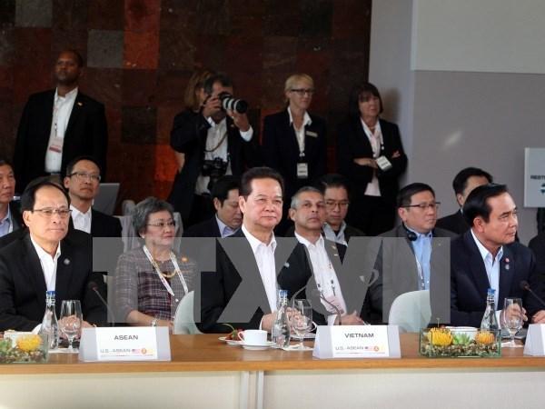 L'ASEAN et les Etats-Unis discutent de la paix et de la securite en Asie-Pacifique hinh anh 2