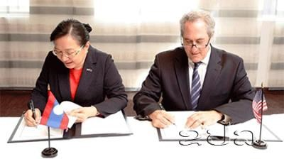 Les Etats-Unis et le Laos concluent un accord commercial hinh anh 1