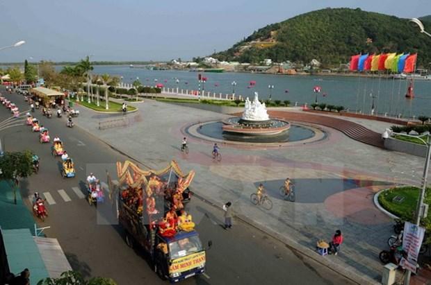 Lancement de l'Annee nationale du tourisme 2016 a Kien Giang hinh anh 1