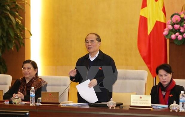 Cloture de la 45e session du Comite permanent de l'Assemblee nationale hinh anh 1