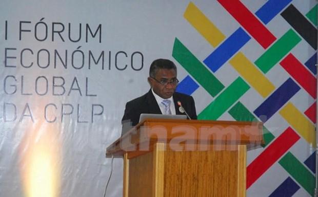 Forum economique mondial de la Communaute lusophone hinh anh 1