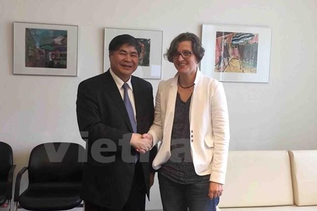Le Vietnam et l'Allemagne renforcent la cooperation entre leurs localites hinh anh 1