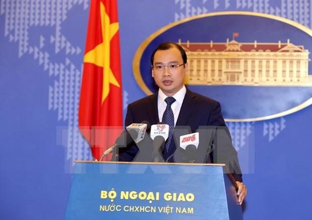Le Vietnam appelle a des actions responsables en Mer Orientale hinh anh 1