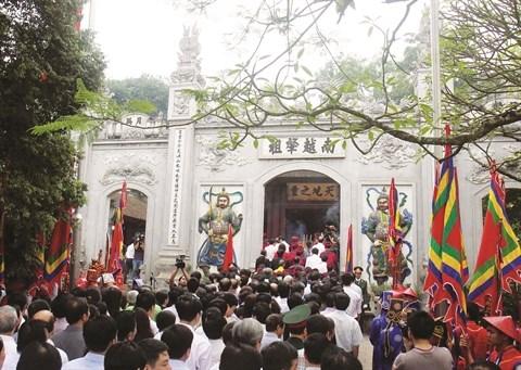 Phu Tho s'efforce de preserver le culte des rois Hung hinh anh 1