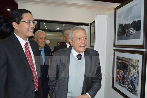 Exposition de photos sur le Renouveau du Vietnam en Egypte hinh anh 1