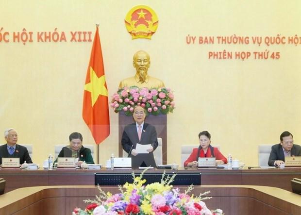 La 46e session du Comite permanent de l'AN commencera le 7 mars hinh anh 1