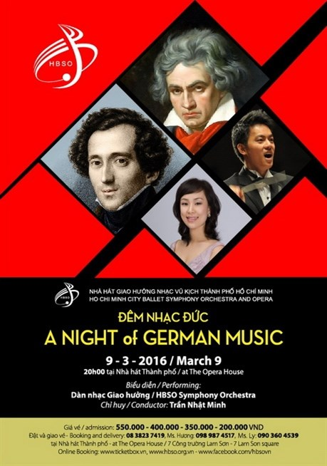 Un concert de musique allemande hinh anh 1