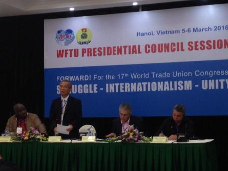 Syndicat : ouverture de la session du Conseil presidentiel de la FSM hinh anh 1