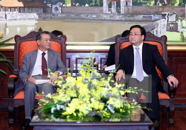 Hanoi souhaite voir le Japon renforcer ses investissements dans divers secteurs hinh anh 1