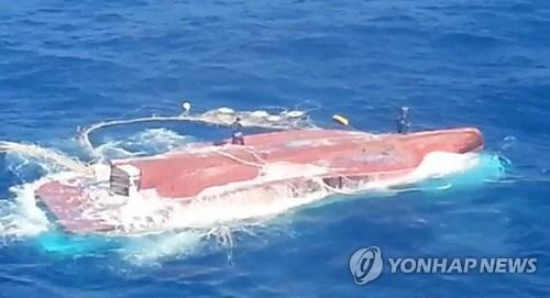 Chavirement d'un navire en R. de Coree : la depouille d'un Vietnamien retrouvee hinh anh 1