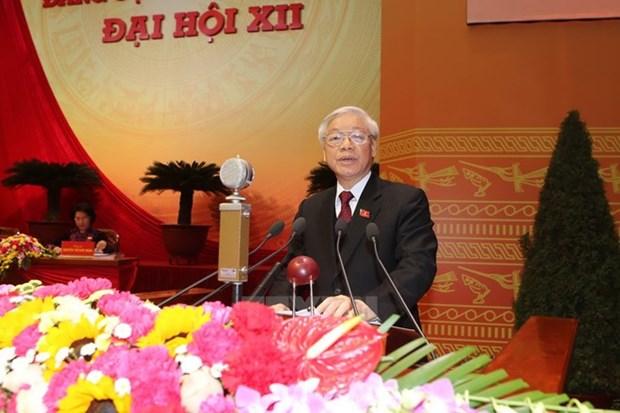 Messages de felicitations au SG du PCV Nguyen Phu Trong hinh anh 1