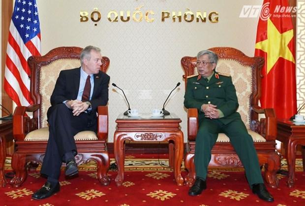 Le Vietnam et les Etats-Unis intensifient leur cooperation dans la securite maritime hinh anh 1
