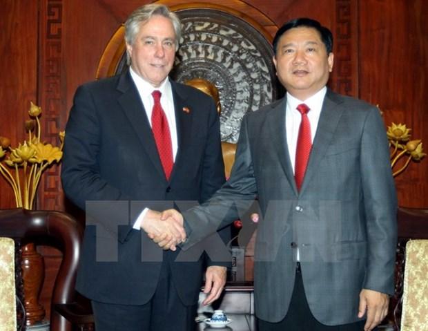Le conseiller principal du secretaire d'Etat americain a Ho Chi Minh-Ville hinh anh 1