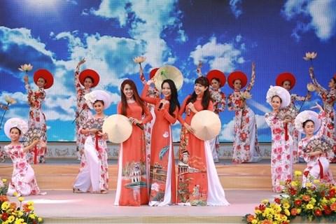 Ouverture de la 3e Fete de l'ao dai de Ho Chi Minh-Ville hinh anh 1