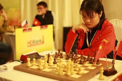 Ouverture du tournoi international d'echecs HDBank a Ho Chi Minh-Ville hinh anh 1