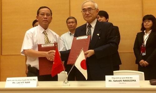 Aide japonaise pour la construction d'ouvrages au service du bien-etre social hinh anh 1