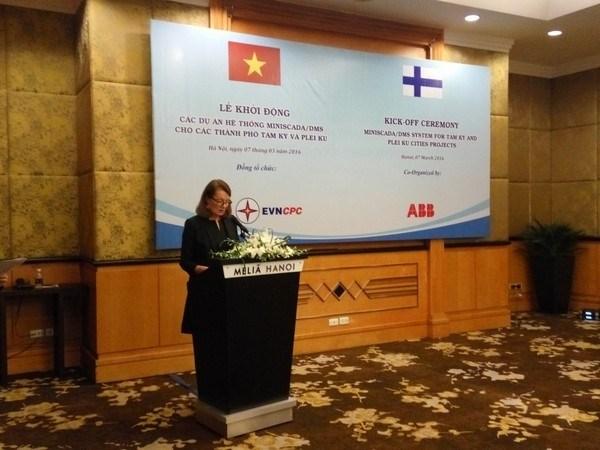 La Finlande aide le Vietnam a ameliorer les reseaux de distribution electrique du Centre hinh anh 1