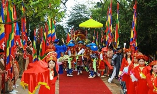 Trois provinces organiseront l'anniversaire des deces des rois Hung hinh anh 1