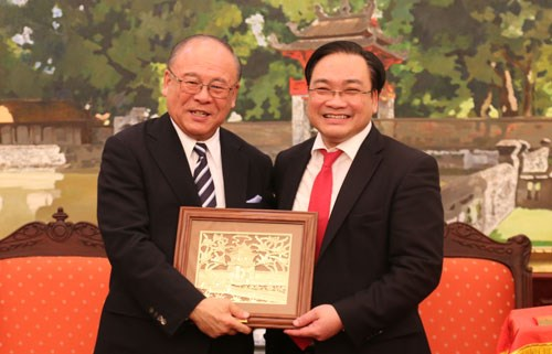 Hanoi favorise les activites des investisseurs japonais hinh anh 1