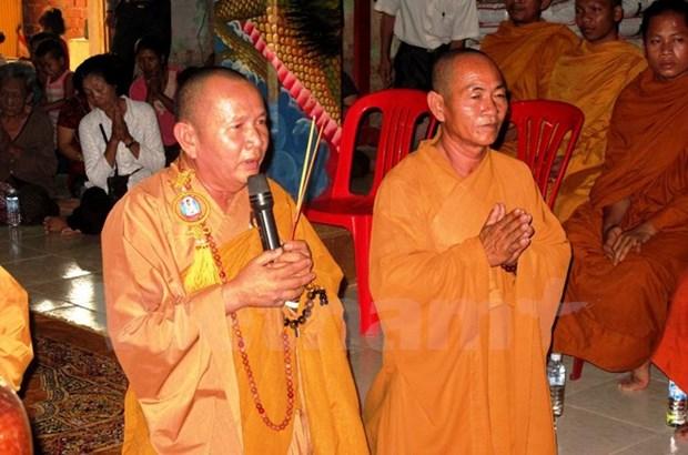 Inauguration du Memorial des Heros morts pour la Patrie Cambodge - Vietnam hinh anh 2