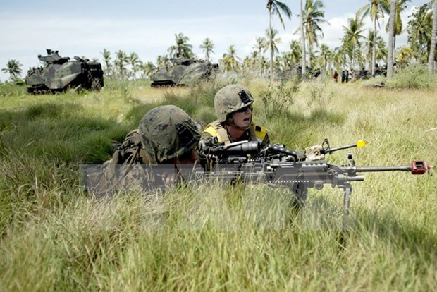 Marine: Indonesie et Etats-Unis planifient leur manoeuvre commune de 2016 hinh anh 1