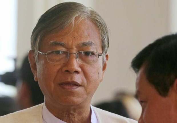 Htin Kyaw devient le nouveau president du Myanmar hinh anh 1