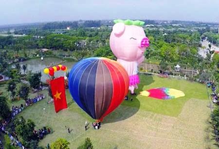 Thua Thien-Hue : bientot le Festival international de montgolfieres 2016 hinh anh 1