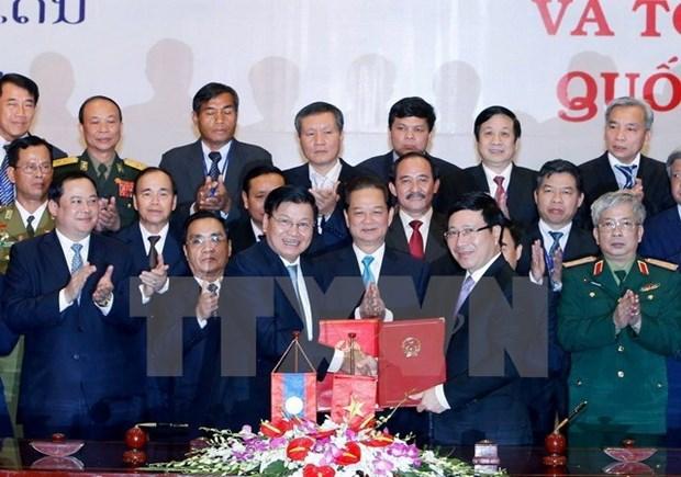 Frontiere Vietnam-Laos, exemple de reglement des problemes lies aux frontieres terrestres hinh anh 1