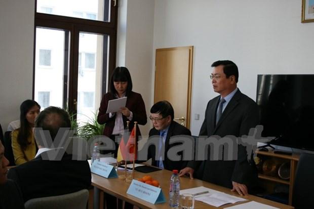 Promotion d'investissement entre les entreprises vietnamiennes et allemandes hinh anh 1