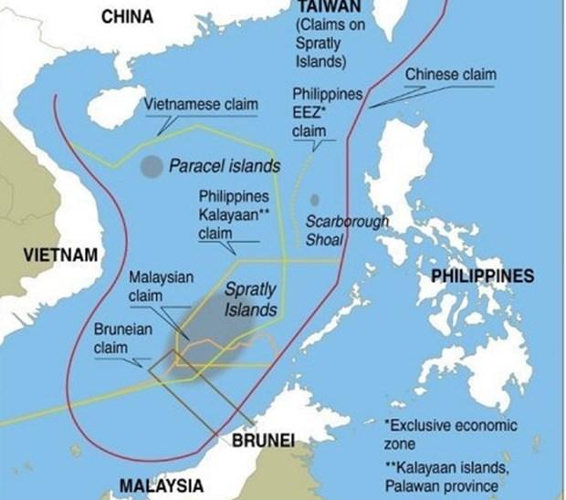 Mer Orientale: les medias internationaux critiquent les actes de la Chine hinh anh 1