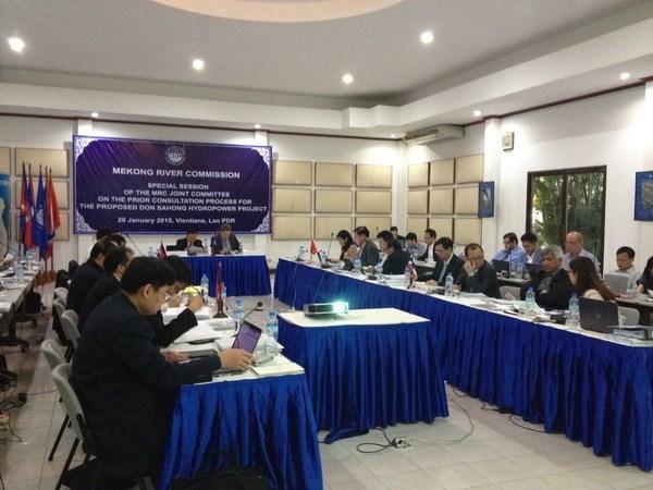 Secheresse: le Vietnam dit sa preoccupation aux pays riverains du Mekong hinh anh 1