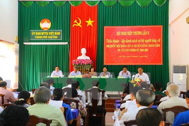 La liste preliminaire des candidats pour les elections a l'AN et aux Conseils populaires hinh anh 1