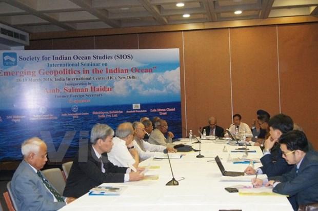 Le dossier de la mer Orientale domine un colloque a New Delhi hinh anh 1