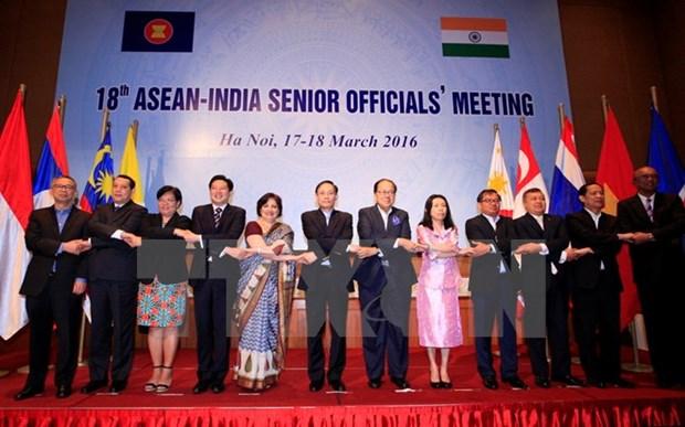 La 18e Conference de hauts officiels ASEAN-Inde a Hanoi hinh anh 1