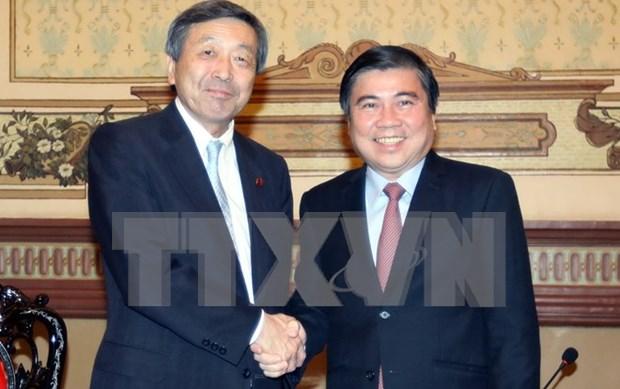 Japon, partenaire de premier plan de Ho Chi Minh-Ville hinh anh 1