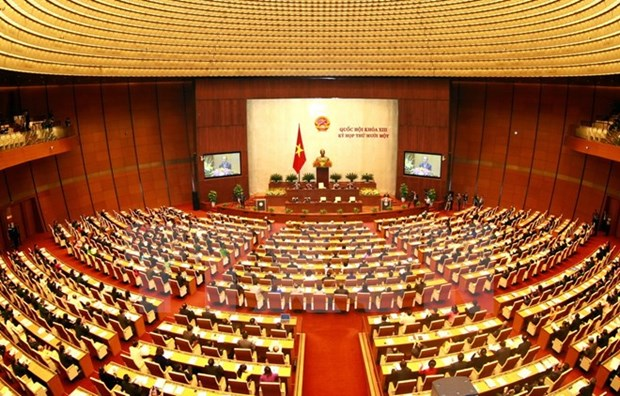 Ouverture de la 11e session de l'AN de la 13e legislature hinh anh 1