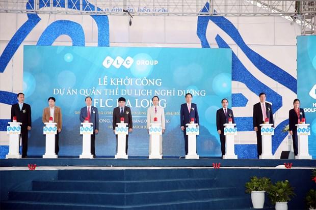 FLC met en chantier une zone de villegiature de luxe a Quang Ninh hinh anh 1