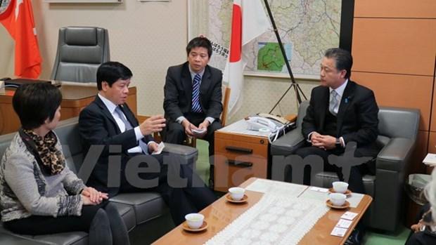 Le Vietnam renforce la cooperation avec la prefecture japonaise de Fukushima hinh anh 1